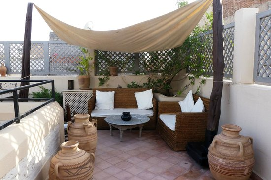 Riad 5 Sens: lovely terrace