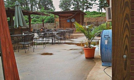 333 Restaurant: The outdoor patio in 2012.