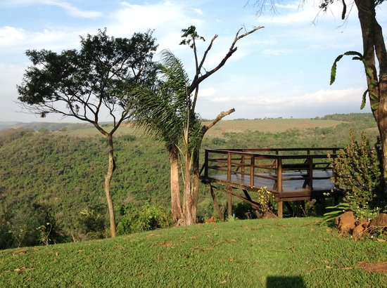 Recanto das Cachoeiras: Mirante e vale do rio Jacaré