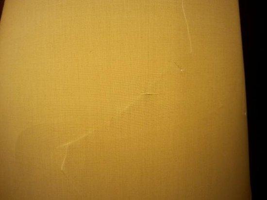 Le Meridien Atlanta Perimeter: horrible patch job in the hallway