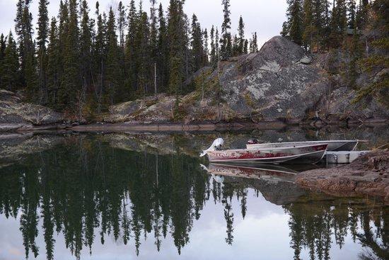 Blachford Lake Lodge: lake