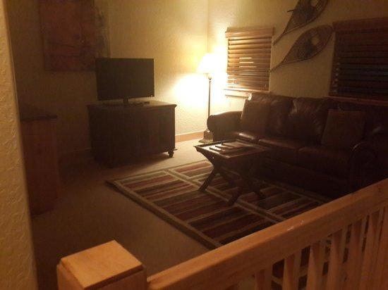 Silverado Lodge: Upper lounge