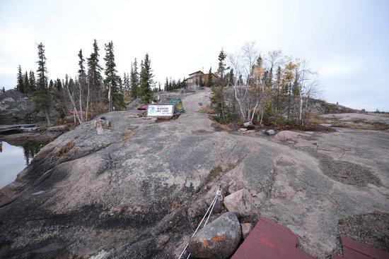 Blachford Lake Lodge: lodge