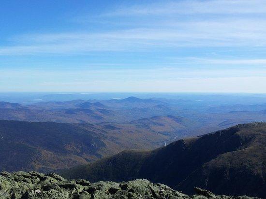 Mount Washington Auto Road: view from Mt Washington