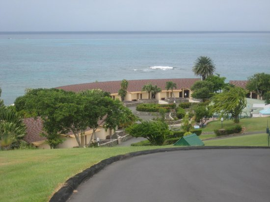The Buccaneer St Croix: From the top of the hill...