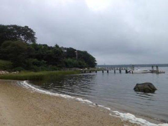 Ram's Head Inn: 'Beach' area
