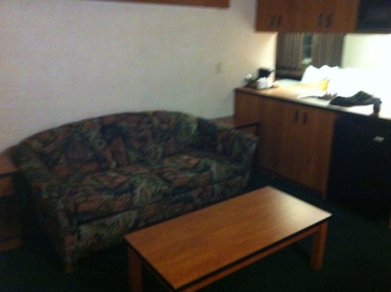 BEST WESTERN PLUS Peak Vista Inn & Suites: didn't expect a couch