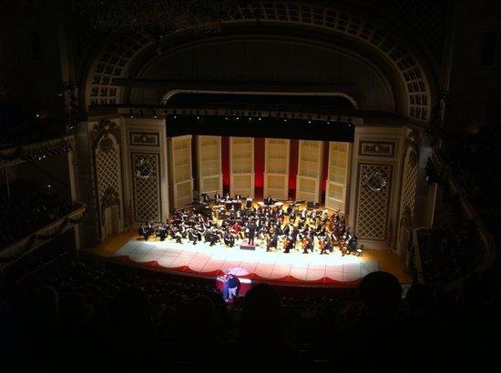 Cincinnati Music Hall - TEMPORARILY CLOSED: La Vie en Rose on NYE. Great show!
