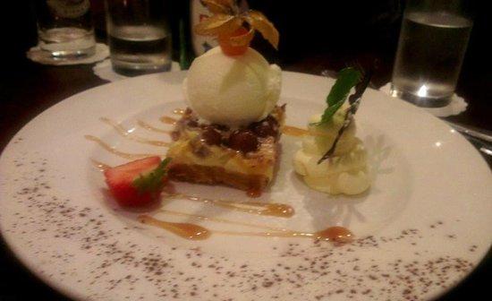 Urquhart's Restaurant: Malteser cheesecake