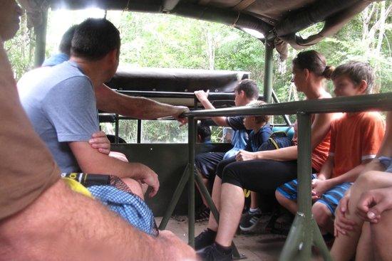 Mayan Jungle Tour: unimog