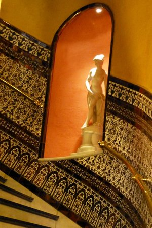 Hotel Baco: the pretty stairway