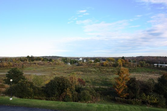 Finger Lakes Hotel : VIEW FROM ROOM