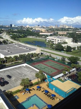 Embassy Suites by Hilton West Palm Beach Central: view from our room