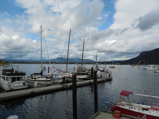 Cow Cafe - West Coast Grill: Cowichan Bay Scenery