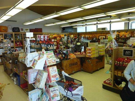 Kingsburg, Californië: Sun-Maid gift store