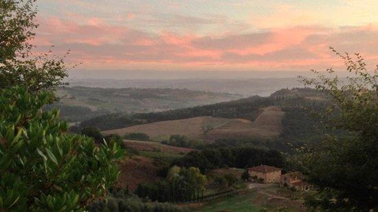 Chiesetta di Santo Pietro : A view from our terrace of La Capanna