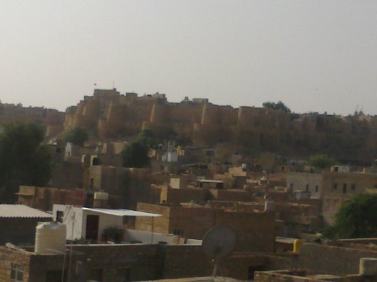 Hotel Pleasant Haveli: View from rooftop restaurant