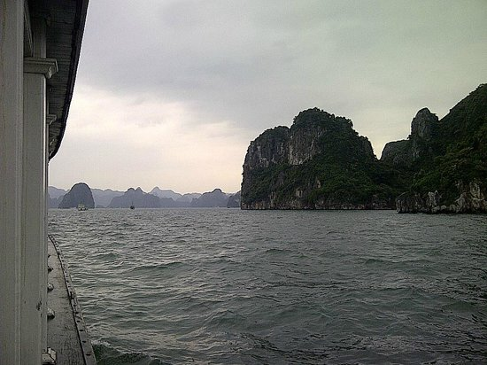 Halong Phoenix Cruiser Day Tour: View from junk