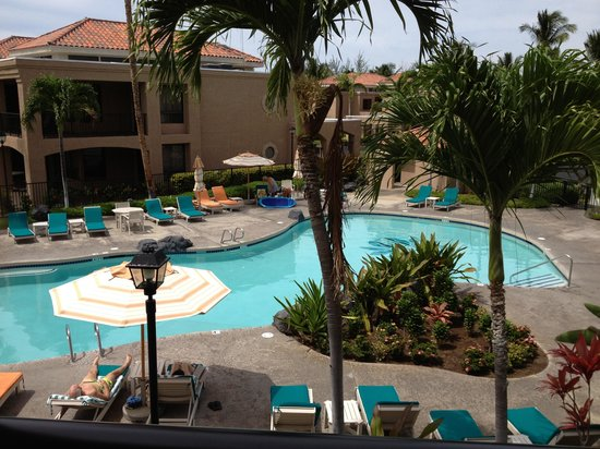 The Bay Club at Waikoloa Beach Resort : View from the lanai