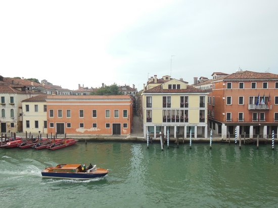 Hotel Continental Venice : view from the 3rd floor.