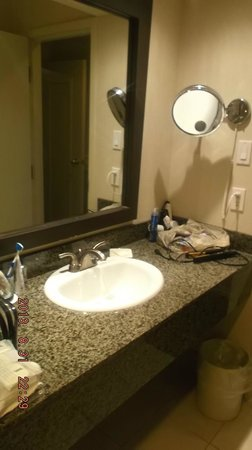 Delta Hotels Edmonton Centre Suites : sink area