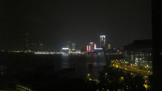 The Harbourview Hong Kong: Night time view from the room!