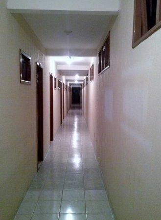 Praia Mar Hotel: corredor dos quartos!