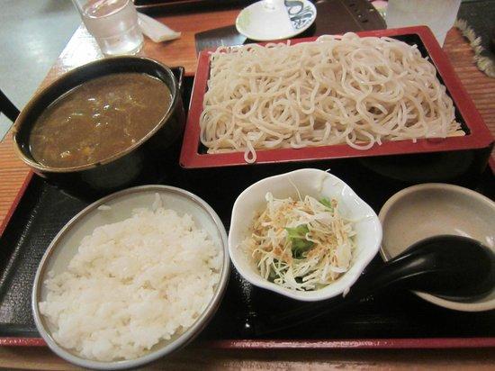 Wing Bay Otaru : Shoba set with curry chicken