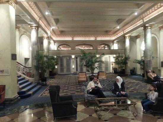 The Fairmont Palliser: Foyer