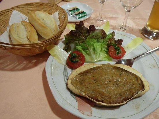 Hotel Les Alignements : 前菜