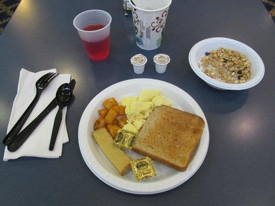 BEST WESTERN Harborside Inn & Kenosha Conference Center: BEST WESTERN Harborside Inn: poor breakfast