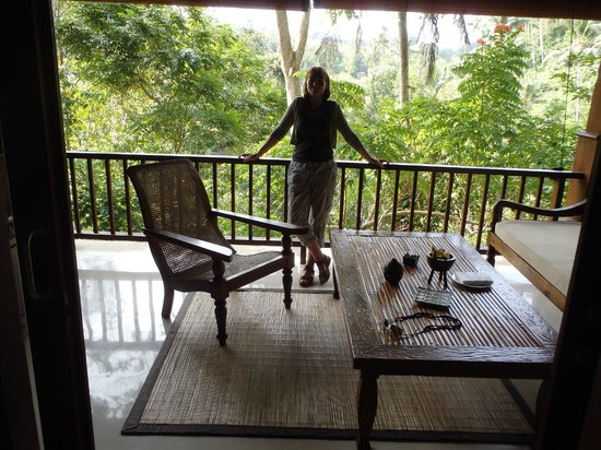 Warwick Ibah Luxury Villas & Spa: The balcony