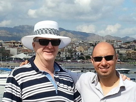 New Travel Services Day Trips : Peter with Christian