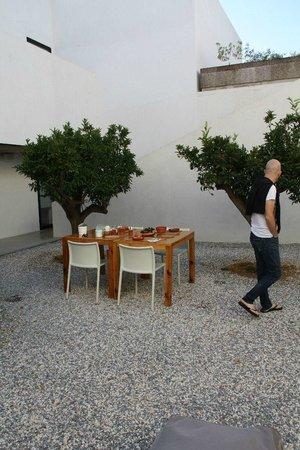 Villa Extramuros: Breakfast