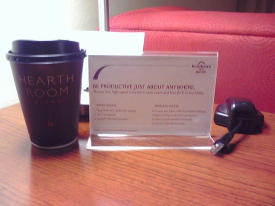 Residence Inn Arlington Rosslyn: コーヒー