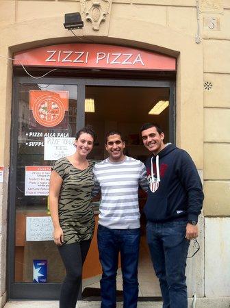 Zizzi Pizza : Giorgia, me and her boyfriend
