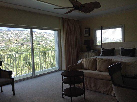 The Kahala Hotel & Resort: Mountain View Room