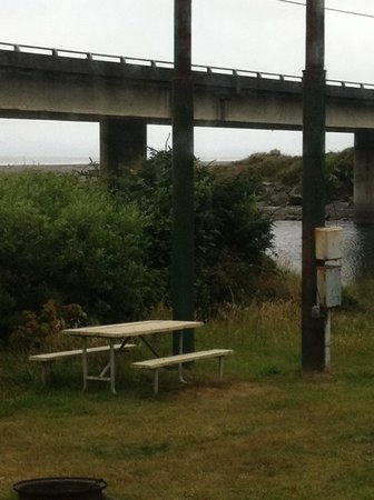 Turtle Rock Resort: View from end RV site