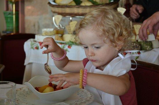 Ti al Lannec Hotel Restaurant & Spa : Un restaurant adapté aux tout petits