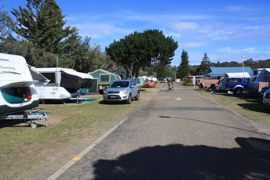 Tathra Beachside : Tathra Beach Family Park powered sites