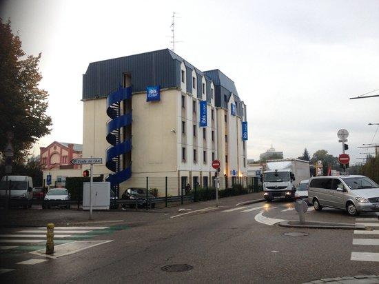 Ibis Budget Strasbourg Palais des Congrès : La bâtisse