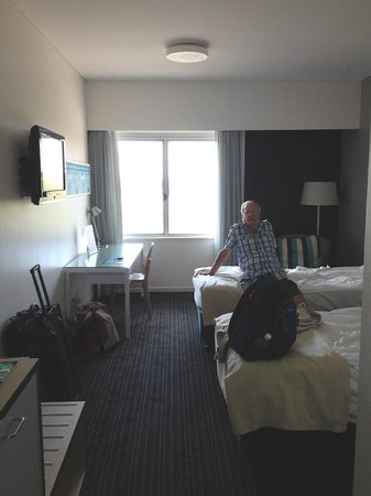 Vibe Hotel Darwin Waterfront : The room.