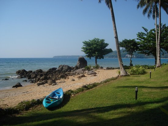 Kamala Beach Estate: The beach at Kamela Beach estate