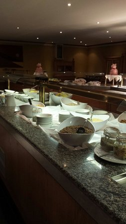 Clanree Hotel: Buffet breakfast at clanree