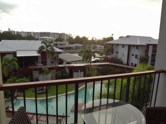 Blue Lagoon Resort: Quiet, relaxing balcony