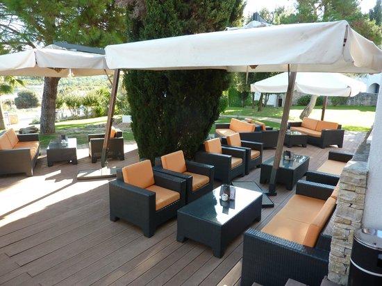 Valamar Club Tamaris : salon exterieur