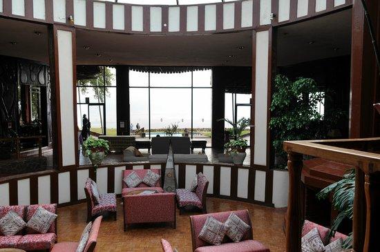 Ngorongoro Sopa Lodge: Lobby / Eingang