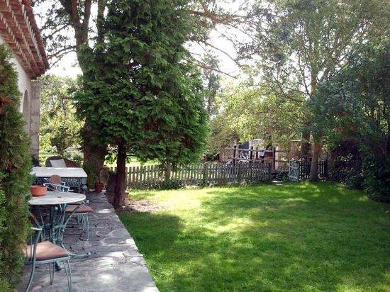 Molino de la Vega: Jardín