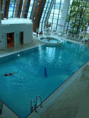 Swimming Pool Picture Of Doubletree By Hilton Hotel Oradea Oradea Tripadvisor
