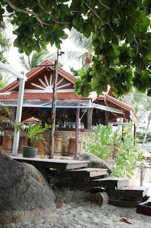 Chaweng Buri Resort: Strandbar